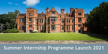 CYC: Summer Internships Programme Drop-In Event tickets