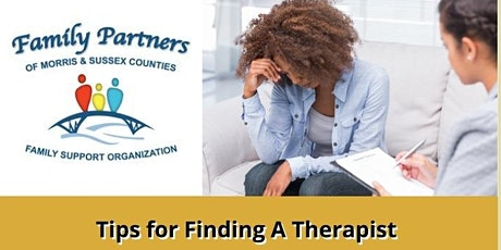 Lunch & Learn- Tips for Finding A Therapist tickets