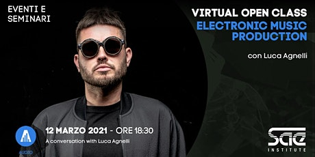 Virtual Open Class • Electronic Music Production biglietti