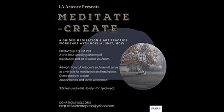 3/5 Meditate-Create - A guided meditation and creative practice workshop tickets
