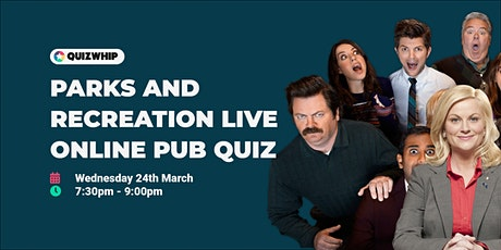 Parks and Recreation - Live Online Pub Quiz tickets