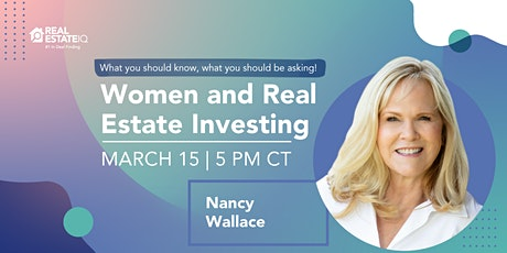 Women and real estate investing. What you should know, what you should be a tickets