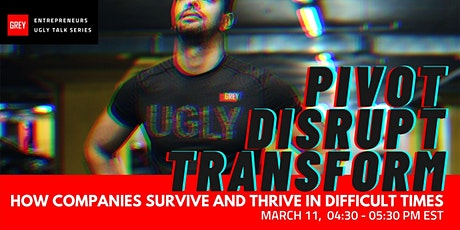 Pivot and Transform: How companies survive and thrive in difficult times tickets
