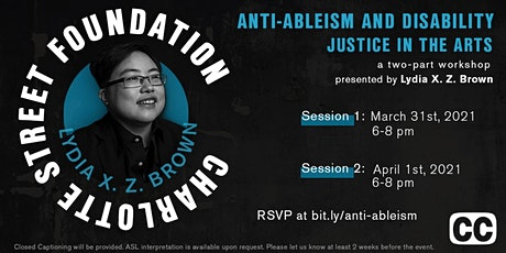 Anti-Ableism and Disability Justice in the Arts tickets