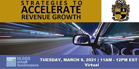 Strategies to Accelerate Revenue Growth with Alpha Phi Alpha tickets