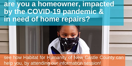 Healthy Homes  Statewide Repair Program Information Session entradas