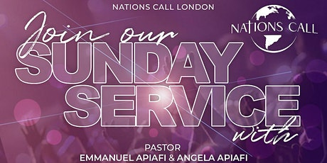 Nations Call London In-Person Sunday Service tickets