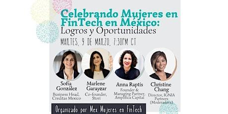 Celebrando Mujeres en FinTech en México entradas