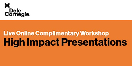 Live Online Complimentary Workshop: High Impact Presentations tickets