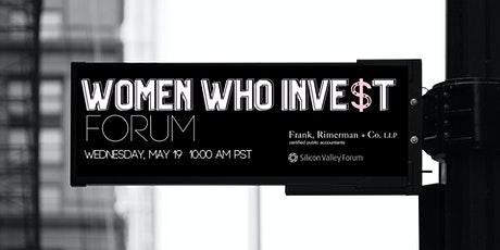 Women Who Invest Forum  |  The Fix: Women Transforming Venture Capital tickets