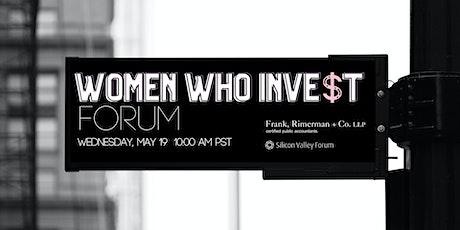 Women Who Invest Forum  |  The Fix: Women Transforming Venture Capital biglietti