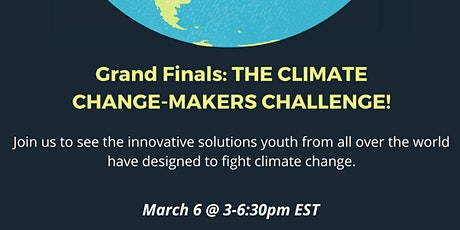 The Climate Change-Makers Challenge: GRAND FINALS tickets