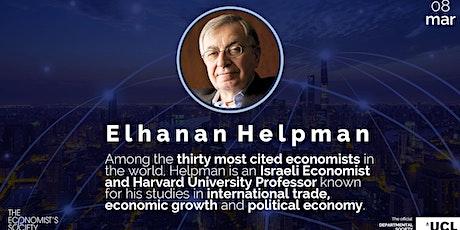 Elhanan Helpman | Globalization and Trade: New Developments tickets