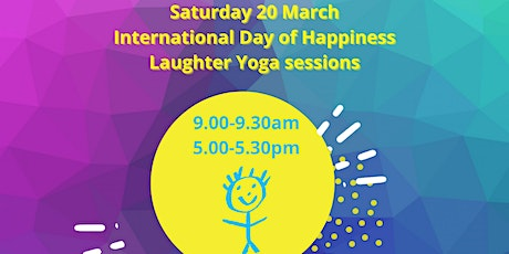 Laughter Yoga on International Day of Happiness 5pm tickets