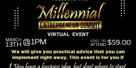 Millennial Entrepreneur Summit tickets