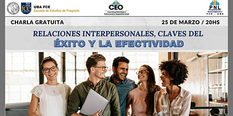 Relaciones interpersonales, conocimientos y actitudes para el éxito entradas