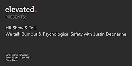 HR Show & Tell - Organizational Psychology tickets