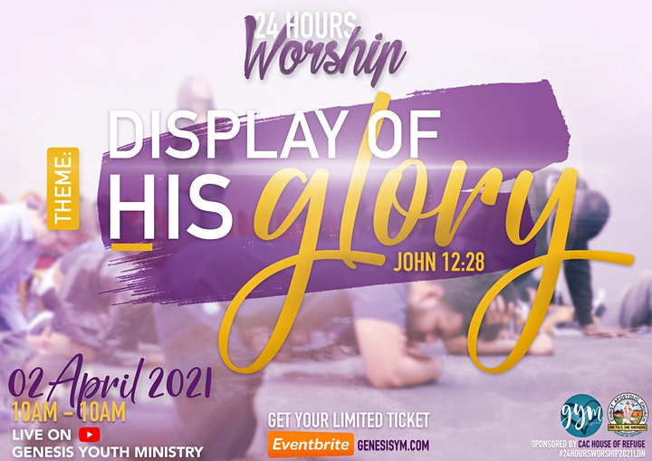 24 Hours Worship London 2021 image
