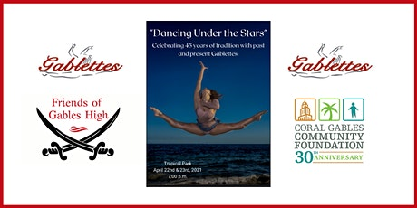 """Dancing Under the Stars"" celebrating 45 years of the Gablette program. tickets"