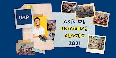 Acto de inicio de clases 2021 - Universidad Adventista del Plata entradas