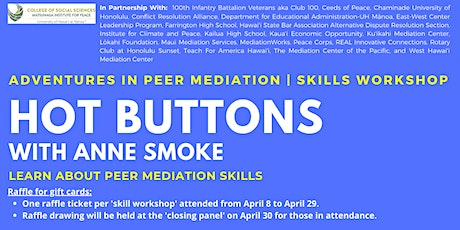 Hot Buttons | Skills Workshop tickets