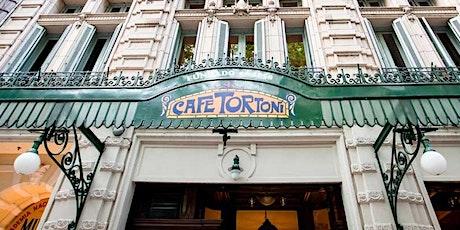 Cúpulas y Edificios de Av. de Mayo con Merienda en Café Tortoni entradas