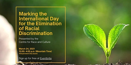 Marking the International Day for the Elimination of Racial Discrimination tickets