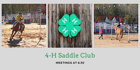 04/13/21 4-H Saddle Club Meeting tickets