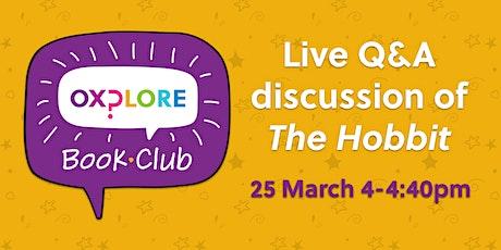 Oxplore Book Club Live tickets