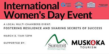 International Women's Day Event: Parry Sound-Muskoka Edition tickets