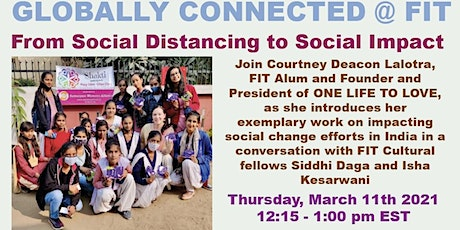 From Social Distancing to Social Impact tickets