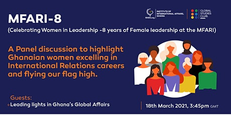 MFARI-8 - Celebrating Women in Leadership -8 years of Female leadership tickets