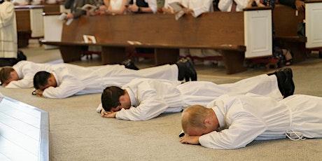 Deacon Seth Sabata's  Priestly Ordination tickets