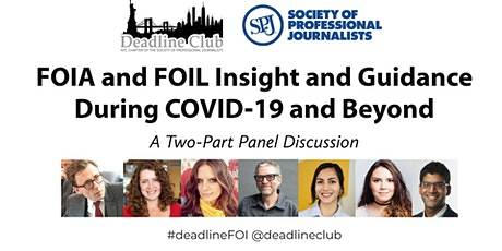 FOIA and FOIL Insight and Guidance During COVID-19 and Beyond tickets