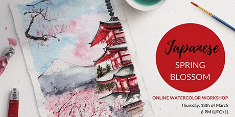 Watercolor Workshop - Japanese Spring Blossom tickets