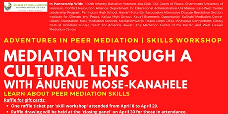Mediation Through A Cultural Lens | Skills Workshop tickets