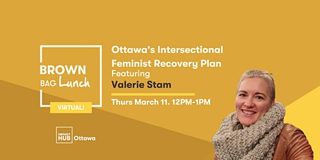 Ottawa's Intersectional Feminist Recovery Plan tickets
