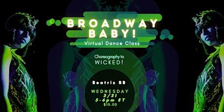 Broadway Baby! Dance Class tickets