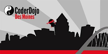 CoderDojoDSM June Meetup tickets