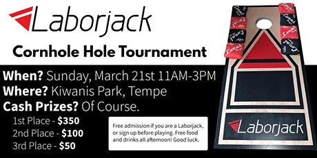 Laborjack Cornhole tickets
