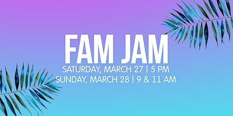 Fam Jam tickets