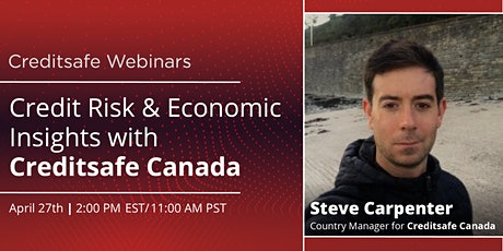 Webinar: Credit Risk & Economic Insights with Creditsafe Canada tickets