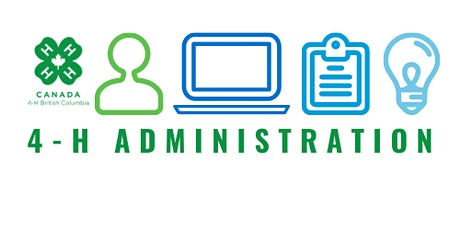 4-H BC Administration Leader Training- Monday, November 8 biglietti