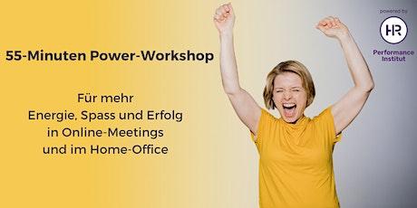 PowerImpuls für's HomeOffice •Virtuelle Methoden intensiv erleben Tickets