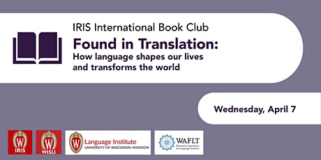 Found in Translation: How Language shapes our lives &transforms the world tickets