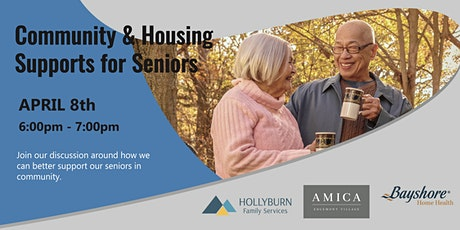 Community and Housing Supports for Seniors tickets