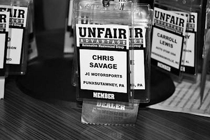 Unfair Advantage Automotive Mastermind Group - Kansas City image