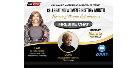Monthly Empowerment Fireside Chat with Valarie Benning Thompson tickets