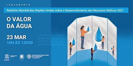 Webinar O Valor da Água ingressos