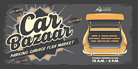 Car Bazaar: Parking Garage Flea Market - Seller Pre-registration tickets